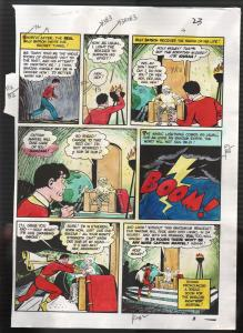 Hand Painted Color Guide-Capt Marvel-Shazam-C35-1975-DC-page 23-Batson-Sivana-G
