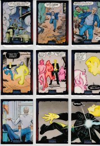 Dark Dominion # 0 Trading Cards  Rare Steve Ditko painted art ! 9  Cards !
