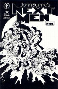 John Byrne's Next Men (1992 series) #17, NM (Stock photo)