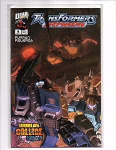 Dreamwave Comics (2002) Transformers: Armada #16