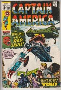 Captain America #129 (Sep-70) FN/VF Mid-High-Grade Captain America