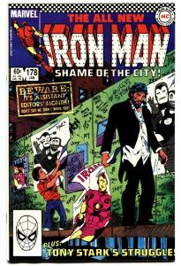 IRON MAN #178-Tony Stark's Struggle-HIGH GRADE MARVEL-NM-