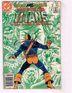 Teen Titans # 55 VG DC Comic Book Robin Cyborg Raven Flash Deathstroke J74