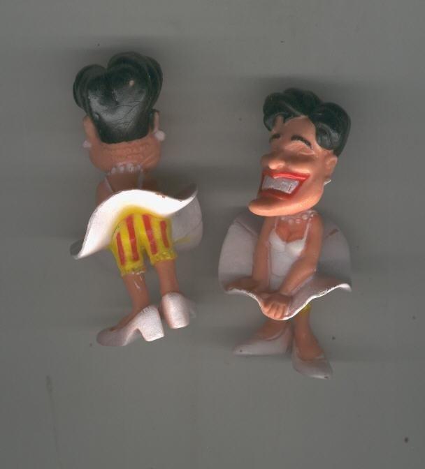 Muñeco de goma: Pilar Rahola