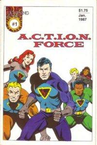 A.C.T.I.O.N. Force #1, NM- (Stock photo)