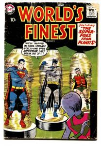 WORLD'S FINEST #96 comic book 1958-SUPERMAN-BATMAN-dc silver-age