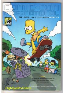 SDCC UPDATE #3 for 2003, NM, Bart Simpson, Skateboard, San Diego Comic Con
