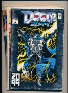 MARVEL Comics SET of 4- DOOM 2099 #1, #2, #3, #4 VERY FINE+  (PF293)