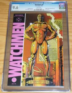 Watchmen #8 CGC 9.6 alan moore - dave gibbons - death of nite owl 1987 dc comics