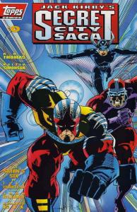 Secret City Saga (Jack Kirby's…) #0 VF/NM; Topps | save on shipping - details in