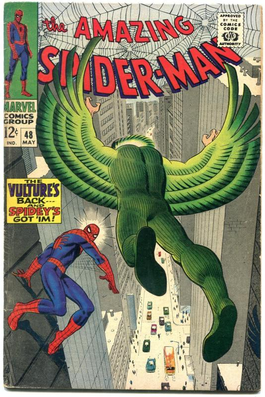 AMAZING SPIDER-MAN #48 1967-MARVEL COMICS SILVER-AGE FN