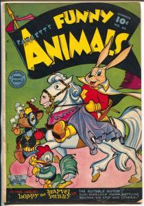 Fawcett's Funny Animals #63 1949-Fawcett-Hoppy Capt Marvel Bunny-VG+