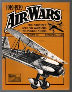Air Wars #16 12/1988-Aircraft & air warfare of the middle years 1919-1939-Curtis