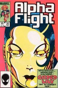 Alpha Flight (1983 series) #20, VF- (Stock photo)