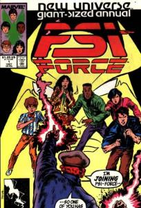 PSI-Force Annual #1, VF (Stock photo)