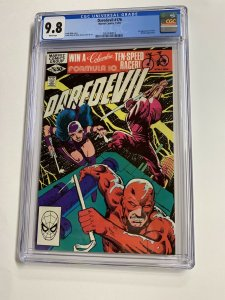 Daredevil 176 Cgc 9.8 White Pages Marvel Frank Miller 1st Stick 2061440019