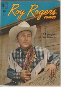 Roy Rogers Comics #26 (Feb-50) VG+ Affordable-Grade Roy Rogers, Trigger