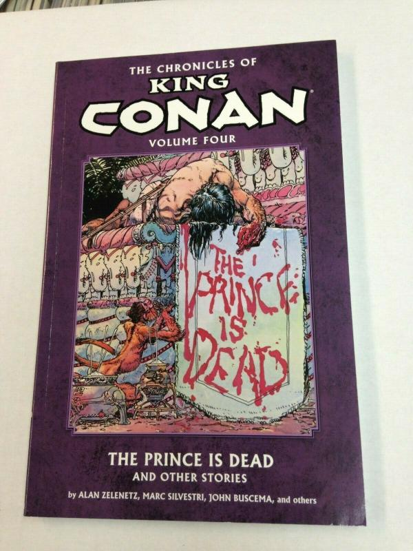 King Conan Vol. 4 The Prince is Dead TPB