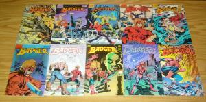 Badger #1-70 VF/NM complete series - mike baron - first comics - vietnam vet