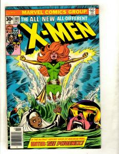 Uncanny X-Men # 101 FN Marvel Comic Book Wolverine Storm Cyclops Beast NP9