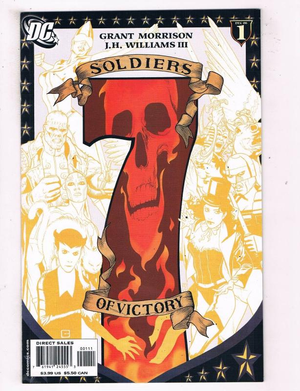 Soliders Of Victory #1 VF DC Comics Comic Book Morrison Dec 2006 DE43 TW14