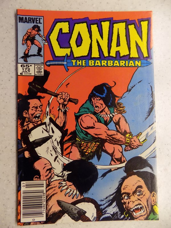 CONAN THE BARBARIAN # 172 MARVEL SAVAGE SWORD FANTASY