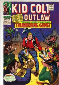 Kid Colt Outlaw #135 (Jul-67) FN/VF Mid-High-Grade Kid Colt