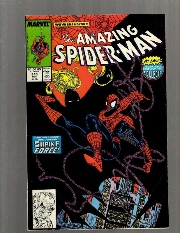 Amazing Spider-Man # 310 VF Marvel Comic Book Todd McFarlane Venom Goblin J450