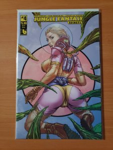 Jungle Fantasy Secrets #4 Space Fauna Variant Cover