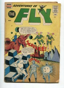 Adventures of the Fly 16 GD/VG  Last 10cent issue