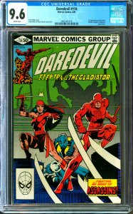 Daredevil #174 CGC Graded 9.6 first appearance of the Hand