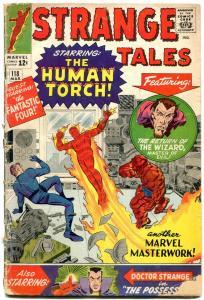 Strange Tales #118 1964-human Torch- Dr Strange- Ditko reading copy