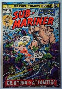 Sub-Mariner #62 (1973)