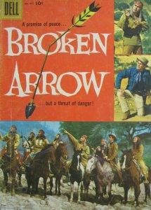 Broken Arrow #855 Dell Comic Silver Age 1957 FN Western