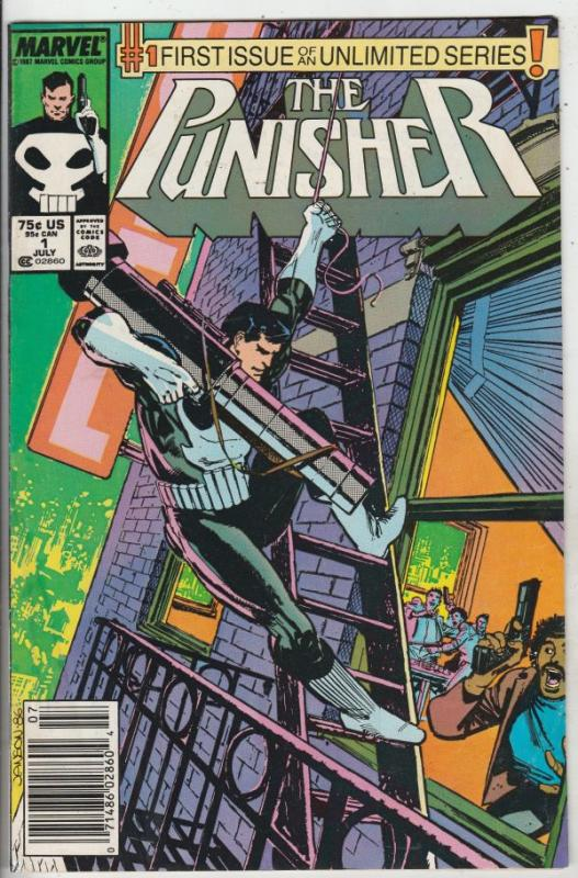 Punisher, The #1 (Jul-87) VF High-Grade The Punisher