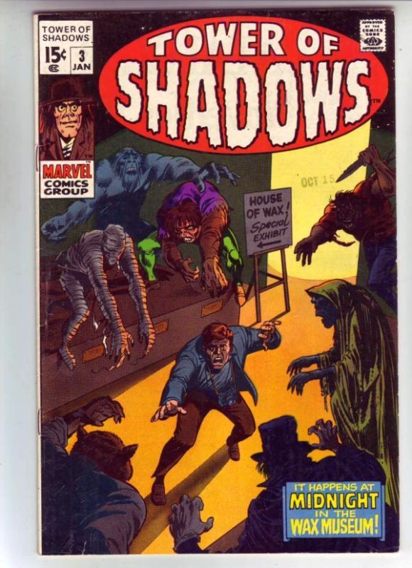 Tower of Shadows #3 (Jan-70) VF/NM High-Grade