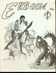 ERB-Dom #8 1963-TARZAN /Edgar Rice Burroughs Fanzine FN