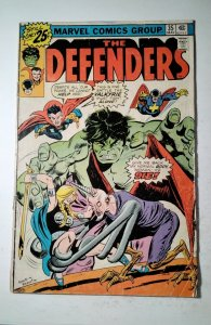 The Defenders #35 (1976) Marvel Comic Book J757