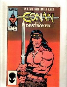 9 Comics Conan The Destroyer 1 The King 48 26 50 55 X-Men 54 64 65 75 J369