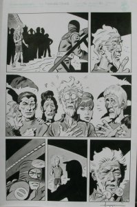 TIGRESS TALES #5 Original Mike Hoffman art, Page #21, Signed, published