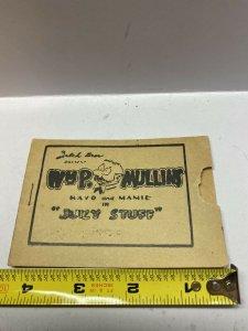 "Tijuana Bible Comic 1930s WMP Mullins "" Juicy Stuff ""  Golden Age"