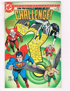 Challenge #10 VF DC Comics Comic Book Conway JLA Superman Aug 1986 DE22