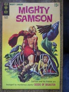 MIGHTY SAMSON 7 F-VF   (Gold Key, 2/1969) COMICS BOOK