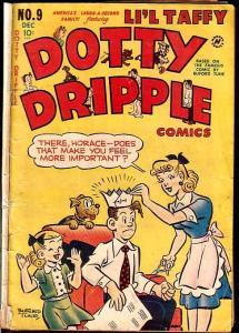 Dotty Dripple #9 1949--BUFORD TUNE ART-LI'L TAFFY-  G