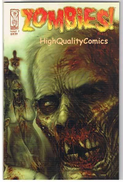 ZOMBIES FEAST #1, NM+, Horror, IDW, Walking Dead, 2006, more Zombies in store