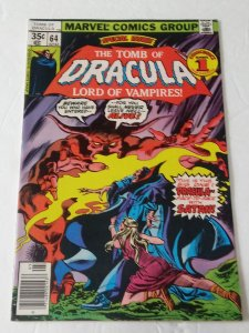 Tomb of Dracula #64 (VF) 1978 Bronze Age Marvel  ID95H