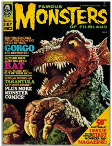 FAMOUS MONSTERS 50 VG+ July 1968 Barbarella, Gorgo