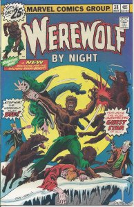 Werewolf by Night #38 (May 1976) - 1st series - guest star: Brother Voodoo
