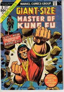 Giant Size Master of Kung Fu # 1