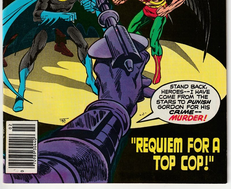 Brave and The Bold # 139  Gordon targeted by an Alien Bounty Hunter !
